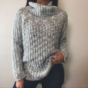 Sweaters - cozy cowl knit